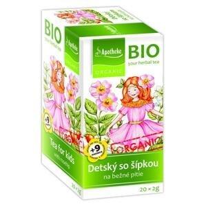 Apotheke Bio Dětský se šípkem 20 x 2 g