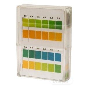 Kompava Indikačné papieriky 100 kusov - prúžky, testovanie pH (5,4-7,4) moču