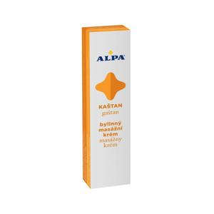 Alpa Gaštan bylinkový masážny krém 40 g
