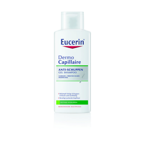 Eucerin DermoCapillaire Anti-Dandruff Gel Shampoo 250 ml