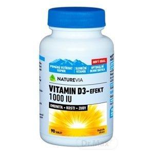 Swiss Vitamín D3 1000IU 90 tabliet