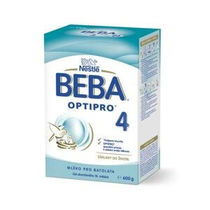 BEBA OPTIPRO 4 mliečna výživa pre batoľatá (od ukonč. 18. mesiaca) 1x600 g