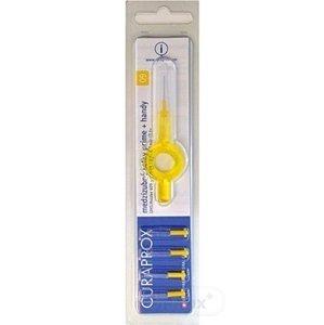 CURAPROX CPS 09 prime + handy žltá medzizubné kefky 5 ks + handy držiak UHS 409, 1x1 set