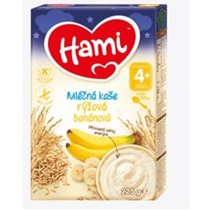 Hami mliečna kaša ryžová banánová DN 225g mliečna kaša 225g