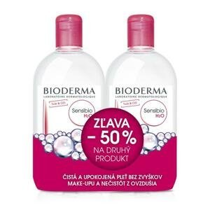 Bioderma Sensibio H2O Festival pleťová voda na citlivú pleť 2 x 500 ml darčeková sada