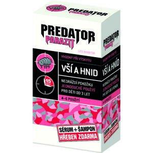 Leroy cosmetics Predator Parazit 2 x 100 ml + hrebeň darčeková sada