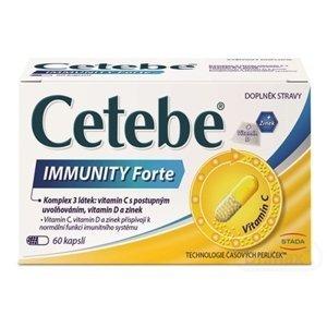 Cetebe Immunity Forte 1×60 cps, výživový doplnok