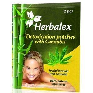 Herbalex detoxikačná náplasť s konopou 2 ks