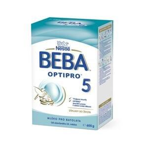 BEBA OPTIPRO 5 (modrá, inov. 2019) mliečna výživa (od ukonč. 24.mesiaca) 1x600 g