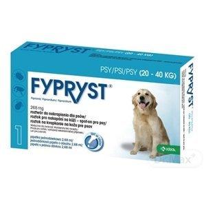 FYPRYST pre psy (20-40 kg) pipeta 1x 2,68 ml