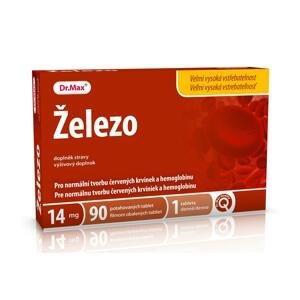 Dr.Max Železo 14 mg 90 tabliet