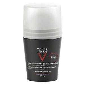 VICHY HOMME DEO ROLL-ON INT.PROTI NADM.POTENIU 72H 1x50 ml