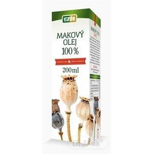 Virde Makový olej 100% 200 ml