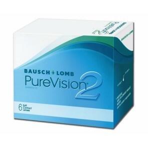 PureVision® 2 HD™ kontaktné šošovky mesačné, 6 ks