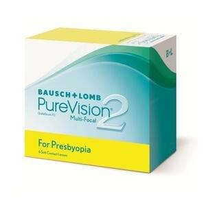 PureVision® 2 HD™ for Presbyopia multifokálne kontaktné šošovky, 6 ks