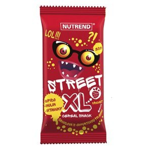 Street XL - jahoda s jogurt. polevou 1×30 g, tyčinka s vitamínmi