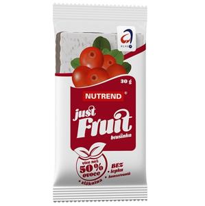 Nutrend Just Fruit - brusnica 1x30 g