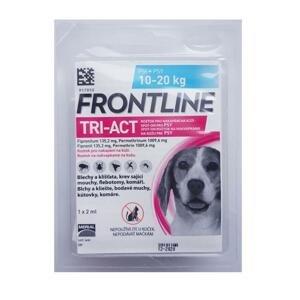 FRONTLINE TRI-ACT Spot-On pre psy M sol (na kožu, psy 10-20 kg) 1x2 ml