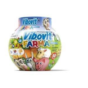 VIBOVIT+ FARMA Gummies želé s ovocnou príchuťou 1x50 ks