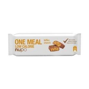NUPO Meal bar Tyčinka Karamelová chrumkavá 1 x 60 g