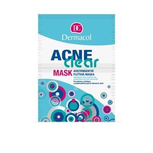 DERMACOL ACNECLEAR maska 2x8 g 2×8 g, pleťová maska