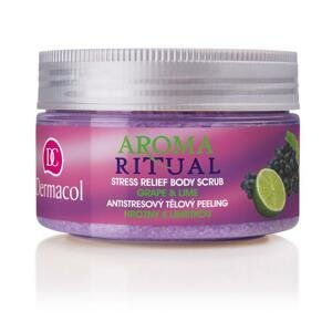 Dermacol Aroma Ritual telový peeling Hrozno s limetkou 200 g