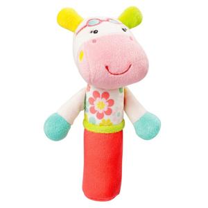 NUK Pískatko do ruky Hrošík hračka pre deti od 3. mesiaca 1x1 ks