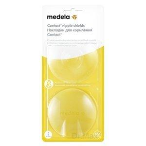 MEDELA Kontaktné dojčiace klobúčiky v krabičke (Ochrana prsných bradaviek MEDELA) veľkosť S (priemer 16 mm), 1x2 ks