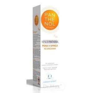 Omega Pharma Panthenol Omega pena v spreji s ľadovým efektom 10% 150 ml