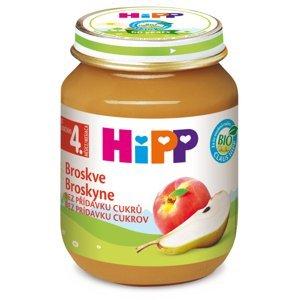 HiPP Príkrm ovocný Broskyne nová receptúra 2016, (od ukonč. 4. mesiaca) 1x125 g