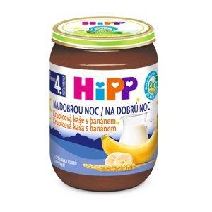 HiPP BIO Dobrú noc krupicová s banánom 190 g