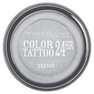 Maybelline Color Tattoo 24h očné tiene očné make-up 50 eternal silver 4 g