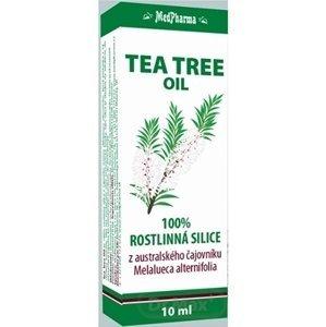 MedPharma TEA TREE OIL 1×10 ml, 100% rastlinná silica z austrálskeho čajovníka