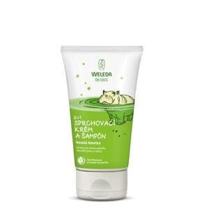 Weleda 2v1 sprchovací krém a šampón limetka 150 ml