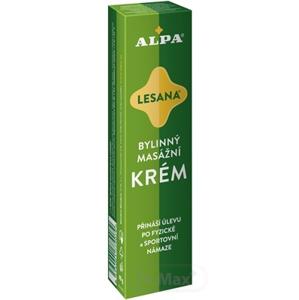 Alpa Lesana bylinkový masážny krém 40 g