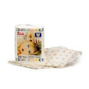 Trudi Baby hypoalergénne prebaľovacie podložky 60x60 cm 1x10 ks