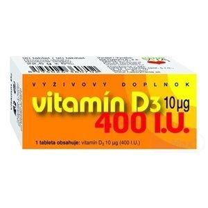 Naturvita Vitamín D3 10MCG 400I.U. 90 tabliet