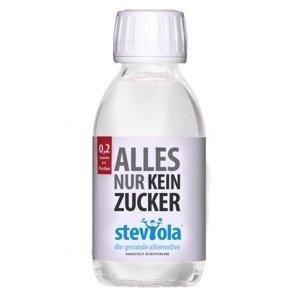 Steviola Fluid tekuté sladidlo zo stévie 125ml