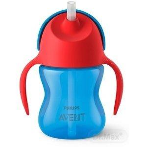 AVENT HRNČEK so slamkou 200 ml (0% BPA) od 9 mesiacov, s držadlami, chlapec, 1x1 ks