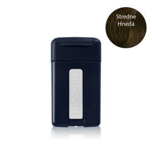 Nanogen keratínové vlákna cestovné balenie stredne hnedá 1x1,5 g