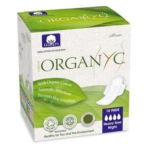 Organyc Vložky zo 100% organickej bavlny Vložky zo 100% organickej bavlny, pre silné krvácanie - 10ks