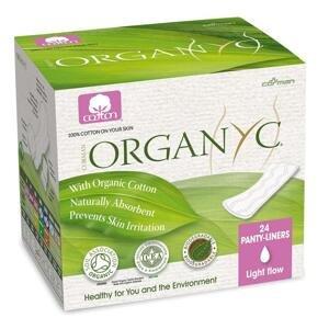Organyc Slipové vložky zo 100% organickej bavlny Slipové vložky zo 100% organickej bavlny, skladané - 24ks
