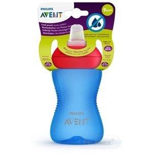 Philips Avent netekoucí hrníček s měkkým pítkem 300 ml modrý