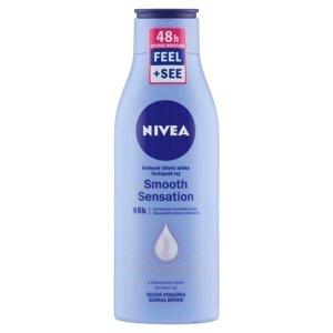 Nivea Smooth Sensation krémové telové mlieko pre suchú pokožku 250 ml