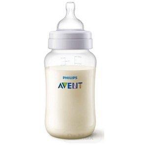 Philips Avent fľaša PP Antikolik polopriehľadná antikolikový mäkký cumlík s 3 otvormi 1x1 ks 330ml