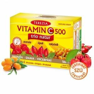 Terezia Vitamin C 500 mg TRIO NATUR 60 kapsúl