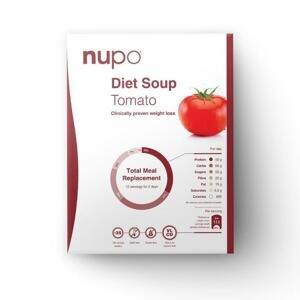 NUPO diétna polievka paradajková, prášok 12x32g