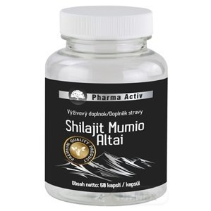 Pharma Activ Shilajit Mumio Altai cps (inov.2020) 1x60 ks