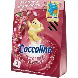 Coccolino voňavé vankúšiky frutti rossi 3 ks