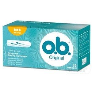 o.b. Original Normal hygienické tampóny 32 ks